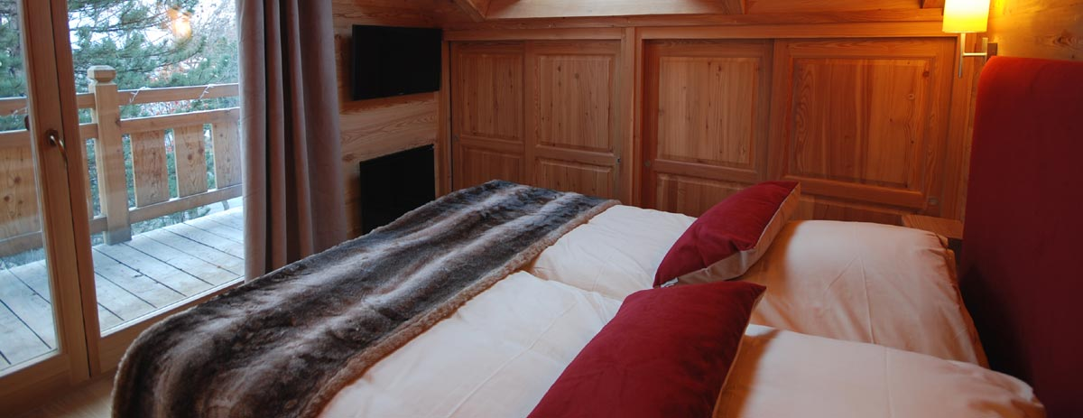 Chambre dans le chalet Everest