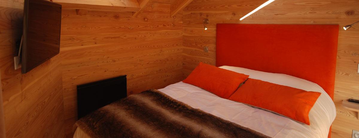 Chambre double au chalet Himalaya
